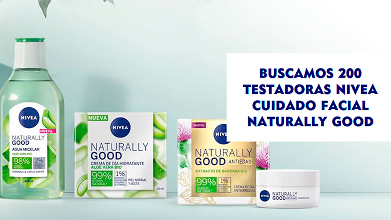 gratis nivea naturally good