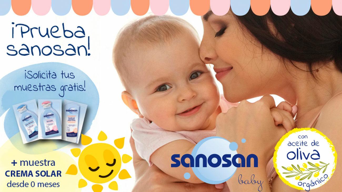 muestras gratis bebe sanosan
