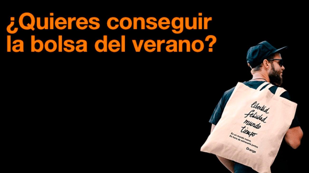 gratis bolsa de verano orange