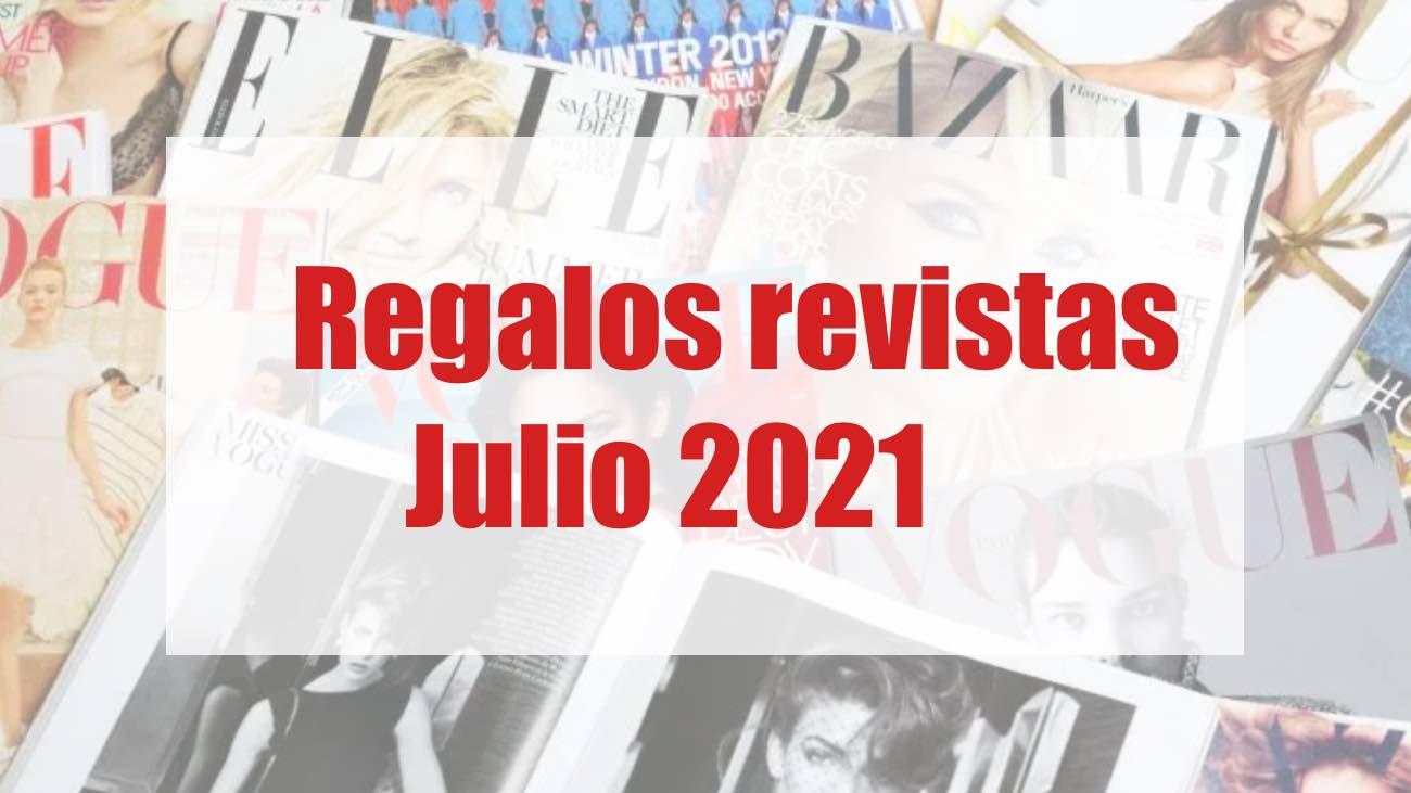 Regalos revistas moda julio 2021