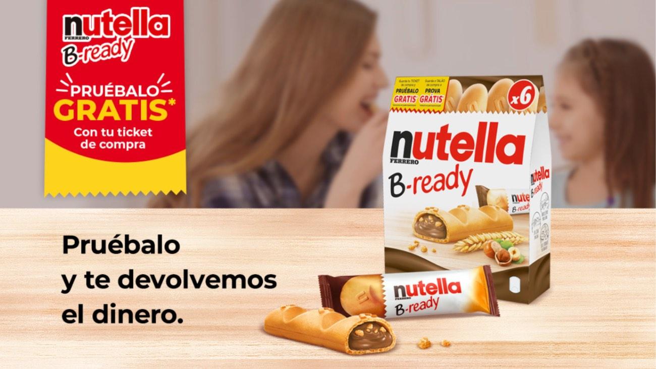 nutella reembolso producto b-ready